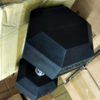 BRAND NEW EMPIRE Rubber Hex Dumbbell Sets - Click for Options - 4