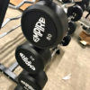BRAND NEW Empire Rubber Fixed EZ Curl Bar Set 20-110 lbs. in 10's w/Rack - 4