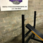 King Fitness Incline Olympic Racked Bench Press - 0