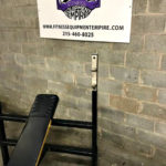 King Fitness Incline Olympic Racked Bench Press - 1