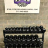 BRAND NEW EMPIRE Rubber Hex Dumbbell Sets - Click for Options - 5