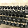 BRAND NEW EMPIRE Rubber Hex Dumbbell Sets - Click for Options - 7