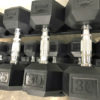 BRAND NEW EMPIRE Rubber Hex Dumbbell Sets - Click for Options - 9