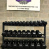 BRAND NEW EMPIRE Rubber Hex Dumbbell Sets - Click for Options - 12