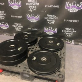 BRAND NEW EMPIRE Solid Rubber Bumper Plate Sets