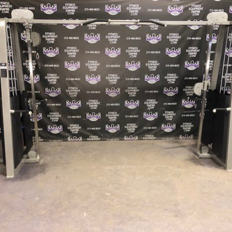 BRAND NEW Empire Dual Adjustable Pulley Cable Crossover Machine w/265 lb. Stacks