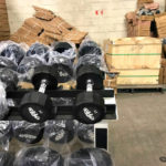 BRAND NEW Empire 12-Sided Prostyle Rubber Dumbbells - 2