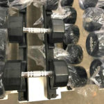 BRAND NEW Empire 12-Sided Prostyle Rubber Dumbbells - 3