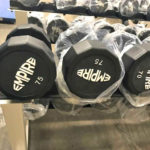 BRAND NEW Empire 12-Sided Prostyle Rubber Dumbbells - 8