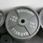 Iron Olympic Weight Plate 240 lb. Sets - PREOWNED - 1