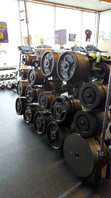 Iron Olympic Weight Plate 240 lb. Sets - PREOWNED