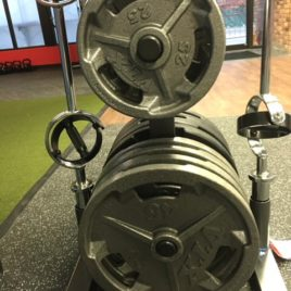 Troy VTX Olympic Grip Plates
