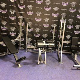 Hammer Strength Olympic 4 Piece Bench Set Incline – Decline – Flat – Military