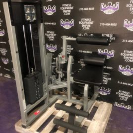 Life Fitness Abdominal Crunch & Back Extension Combo Machine – LIKE NEW