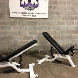 Precor Icarian Super Benches 0-90 Degree Adjustable On Wheels