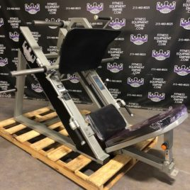 BRAND NEW Empire 45 Degree Linear Platinum Leg Press – 4 Loading Horns