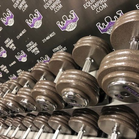 BRAND NEW EMPIRE Iron Prostyle Dumbbell Sets - Click for Options