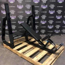 Precor Incline Olympic Bench Press w/Spotter Stand