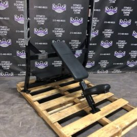 Hammer Strength Incline Olympic Bench Press w/Spotter Stand