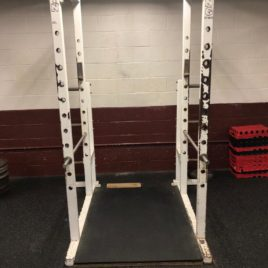 King Fitness Commercial Power Squat Racks w/Plate Storage
