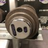 BRAND NEW EMPIRE 5-100 lb. Iron Prostyle Dumbbell Set w/New Matching Racks - 10