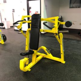 Precor Icarian Flite FLT 550 ISO Lateral Plate Loaded Shoulder Press