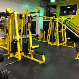 Precor Icarian 8 Stack Cable Crossover Jungle Gym