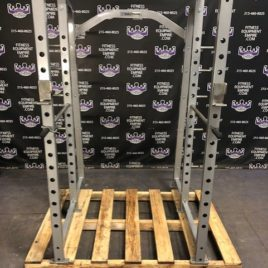 Nautilus Power Rack w /Pullup Bar & Plate Storage