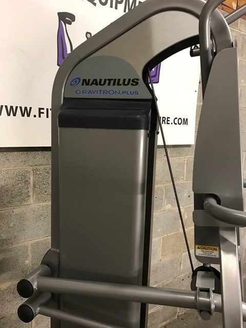 Buy Nautilus Nitro Plus Gravitron Assisted Dip & Pull-up ...