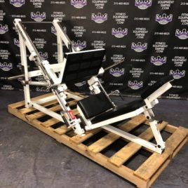Paramount 45 Degree Plate Loaded Linear Leg Press w/Extra Loading Horn