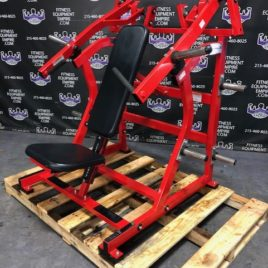Hammer Strength Plate Loaded ISO Lateral Front Military Press/Super Incline