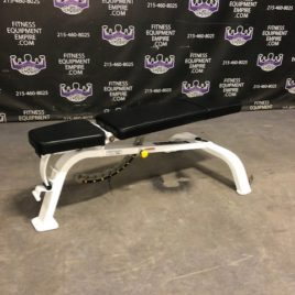 Paramount FID Flat Incline Decline Adjustable Bench On Wheels