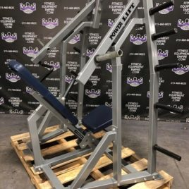 Power Lift Plate Loaded ISO Lateral Shoulder Press