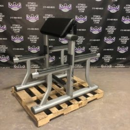 Life Fitness Signature Series Double Sided Standing Preacher & Spider Curl