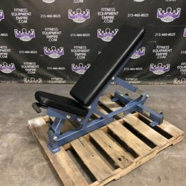Hammer Strength 0-90 Degree Adjustable Benches On Wheels