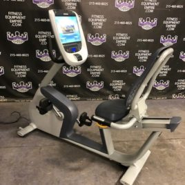 Precor RBK 885 Recumbent Bike w/P80 Touchscreen Console