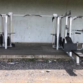 Precor Icarian 6 Stack Cable Crossover Jungle Gym