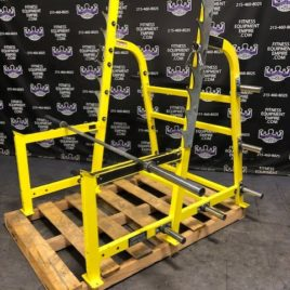Hammer Strength Squat Rack w/1000 lb. Rated Olympic 7 ft. Barbell
