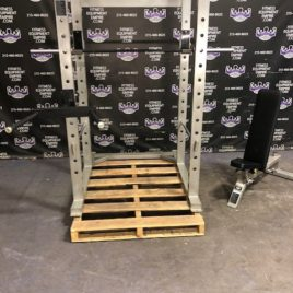 Empire Power Rack w/Dip Attachment, Adjustable 0-90 Bench, 7 ft. 750 lb. Rated Barbell – Full Home Gym Package – BRAND NEW