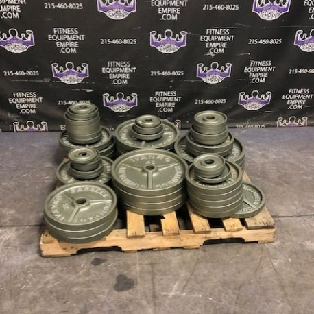 ORIGINAL Ivanko M Series USA MADE - 30 Years Old - MINT CONDITION - 1130 lb. LOT