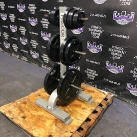 IGX Urethane Olympic Plate Set w/Precor Tree Stand