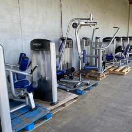 Precor Discovery 13 Unit Total Body Strength Circuit