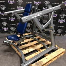 Life Fitness Signature Series Plate Loaded ISO Lateral Shoulder Press