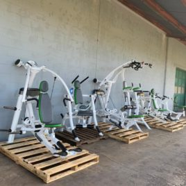 Hoist Roc-It ISO Lateral Plate Loaded 7 Unit Strength Circuit